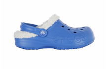 Crocs Baya Lined Kids sea blue/oatmeal